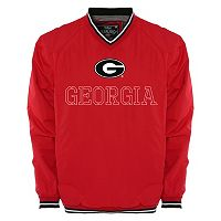 Men's Franchise Club Georgia Bulldogs Trainer Windshell Pullover