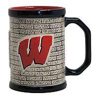 Boelter Wisconsin Badgers Stone Coffee Mug