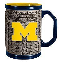 Boelter Michigan Wolverines Stone Coffee Mug