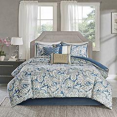 Madison Park 7 pc Lira Comforter Set