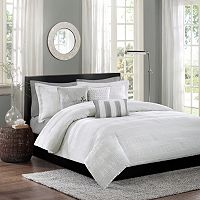 Madison Park 6-piece Sheridan Duvet Cover Set