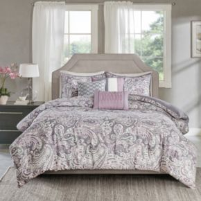 Madison Park 6-piece Lira Duvet Cover Set