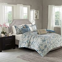 Madison Park 6 pc Lira Duvet Cover Set