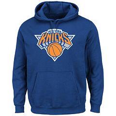Men's Majestic New York Knicks Tek Patch Hoodie