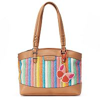 Rosetti Aimee Striped Satchel