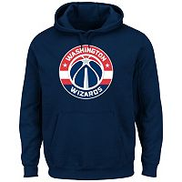 Men's Majestic Washington Wizards Tek Patch Hoodie
