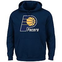 Men's Majestic Indiana Pacers Tek Patch Hoodie