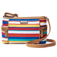 Rosetti Global Bazaar Canvas Crossbody Bag