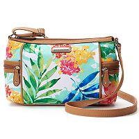 Rosetti Global Bazaar Canvas Crossbody Bag