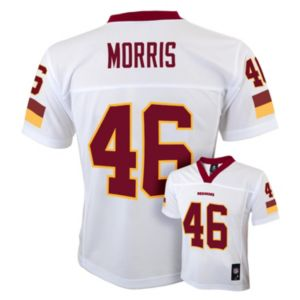 Boys 8-20 Washington Redskins Alfred Morris NFL Replica Jersey