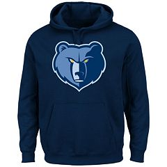 Men's Majestic Memphis Grizzlies Tek Patch Hoodie