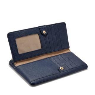 Relic Caraway Double Zip Checkbook Wallet