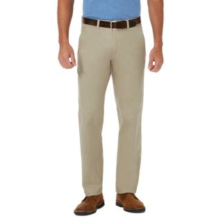 Men's Haggar Coastal Comfort Straight-Fit Stretch Flat-Front Chino Pants
