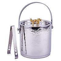 Old Dutch Stainless Steel Dragon Ice Bucket