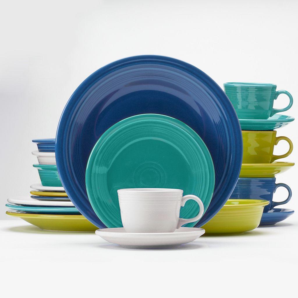 Fiesta Coastal Colors 20-pc. Dinnerware Set