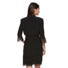 Women's Expo Tiered Dress & Jacket Set