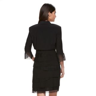 Women's Expo Tiered Dress & Jacket Set