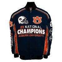 Men's Franchise Club Auburn Tigers Commemorative Varsity Jacket