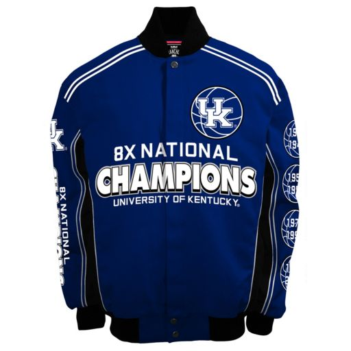 Men's Franchise Club Kentucky Wildcats Commemorative Varsity Jacket