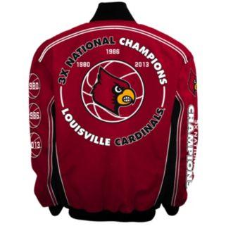 Men's Franchise Club Louisville Cardinals Commemorative Varsity Jacket