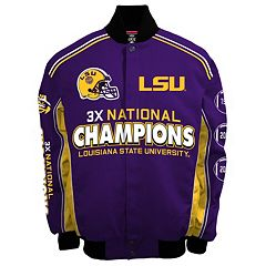 Men's Franchise Club LSU Tigers Commemorative Varsity Jacket