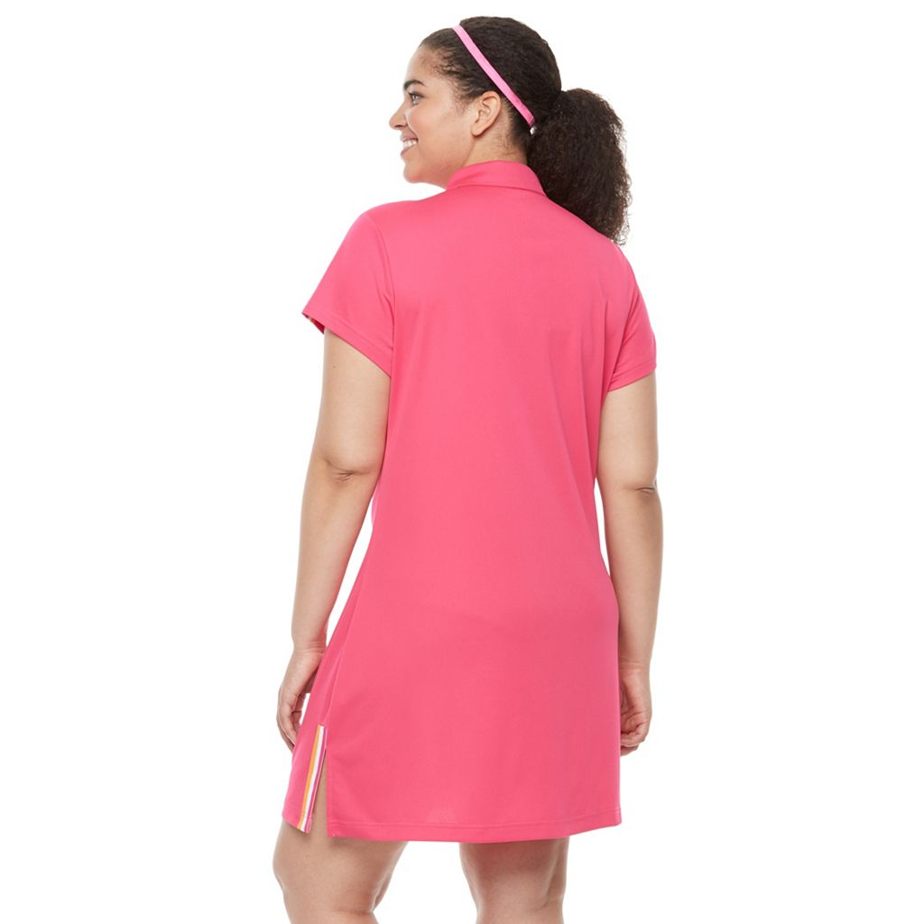 Plus Size FILA SPORT® Polo Dress
