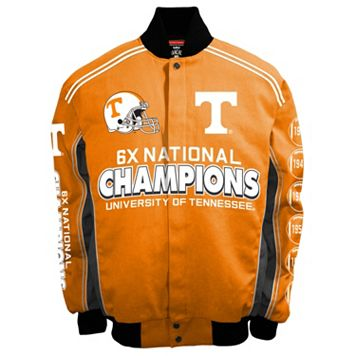 Men's Franchise Club Tennessee Volunteers Commemorative Varsity Jacket