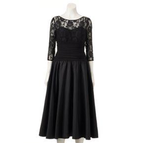 Women's Expo Floral Lace Dress