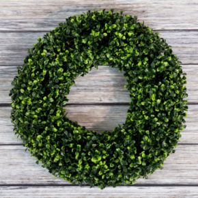 Pure Garden 16.5-in. Artificial Boxwood Wreath