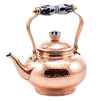 Old Dutch 2-qt. Hammered Copper Tea Kettle