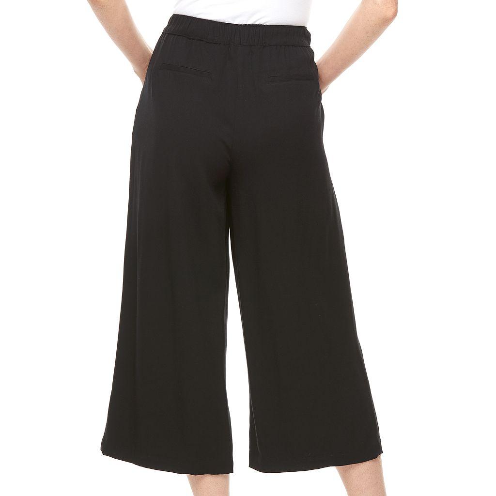 Women's Apt. 9® Solid Soft Culottes