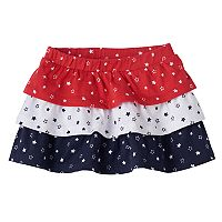 Baby Girl Jumping Beans® Tiered Star Skort