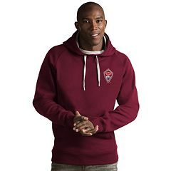 Men's Antigua Colorado Rapids Victory Pullover Hoodie