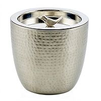 Old Dutch Churp Hammered Stainless Steel Ice Bucket