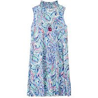 Girls 7-16 Speechless Paisley High Collar Mockneck Sheath Dress