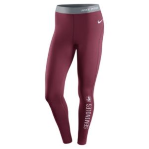Women's Nike Florida State Seminoles Hyperwarm Tights