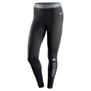 Women's Nike Iowa Hawkeyes Hyperwarm Tights