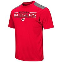 Men's Campus Heritage Wisconsin Badgers Rival Heathered Tee