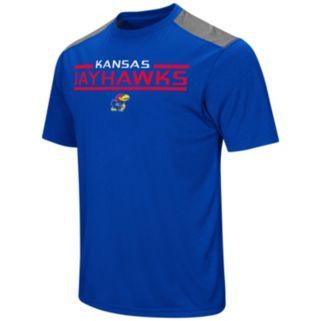 Men's Campus Heritage Kansas Jayhawks Rival Heathered Tee