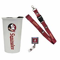 Florida State Seminoles Badge Holder, Lanyard & Tumbler Job Pack