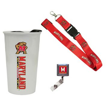 Maryland Terrapins Badge Holder, Lanyard & Tumbler Job Pack