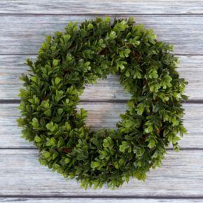 Pure Garden 14-in. Artificial Boxwood Wreath