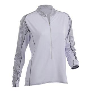 Women's Nancy Lopez Melody Long Sleeve Golf Top