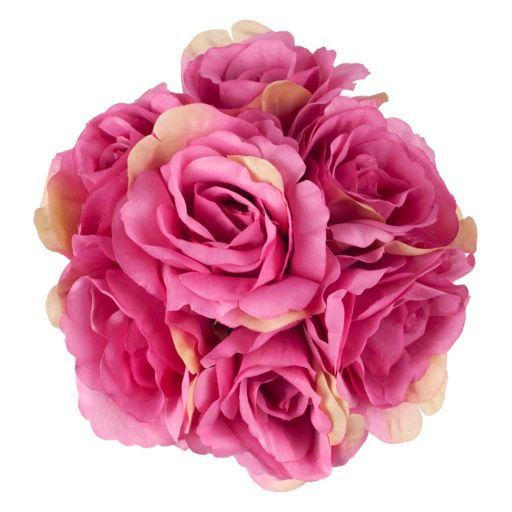 Pure Garden Artificial Rose Floral Arrangement