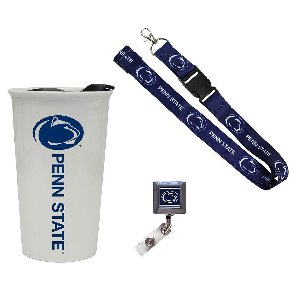 Penn State Nittany Lions Badge Holder, Lanyard & Tumbler Job Pack