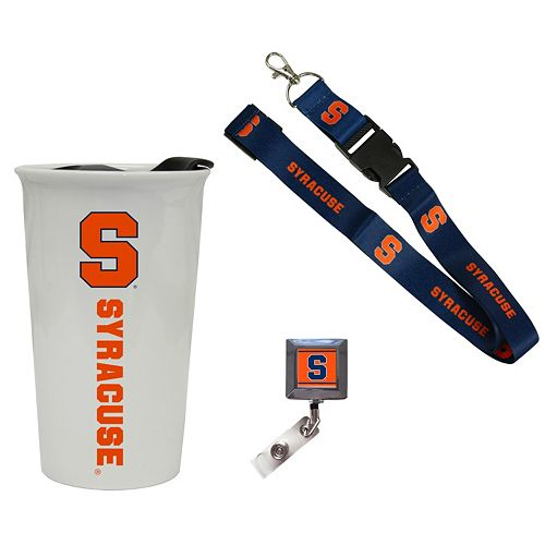 Syracuse Orange Badge Holder, Lanyard & Tumbler Job Pack