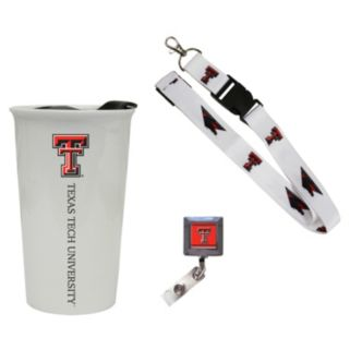 Texas Tech Red Raiders Badge Holder, Lanyard & Tumbler Job Pack