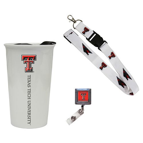 Texas Tech Red Raiders Badge Holder, Lanyard & Tumbler Job Pack