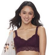 Juniors' Mudd® Scalloped Lace Bralette