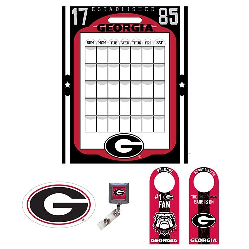 Georgia Bulldogs Dorm Room Pack